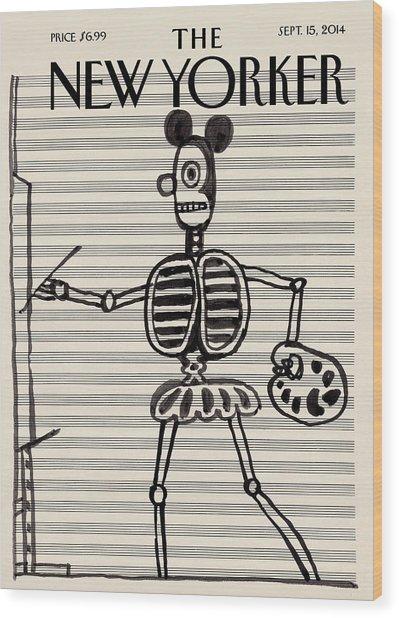 New Yorker September 15, 2014 Wood Print