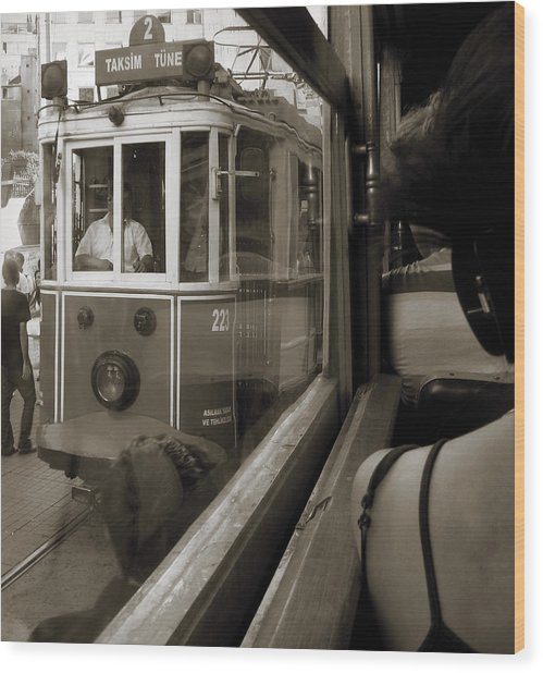A Streetcar Named Desire Wood Print