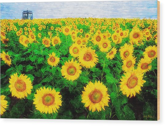 A Sunny Day With Vincent Wood Print