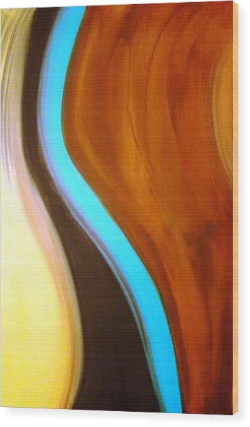 A Turning Point Wood Print
