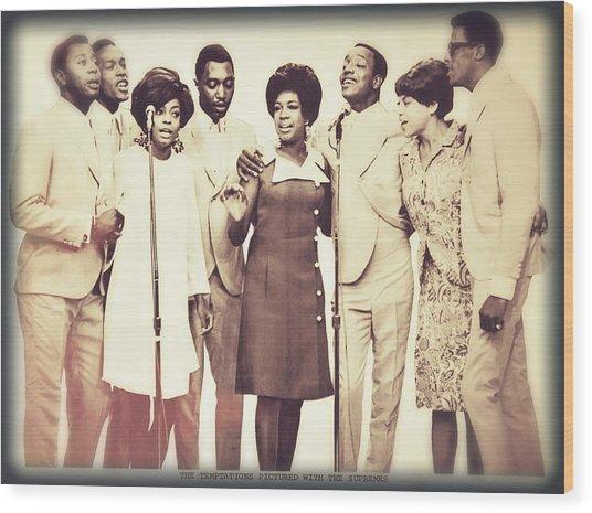 Motown Harmony Wood Print