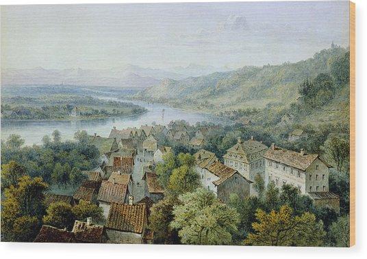 A View Of Karlsruhe Wood Print