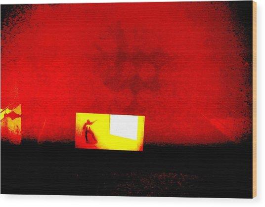 A Walk Through Hell Wood Print by Tyler Schmeling
