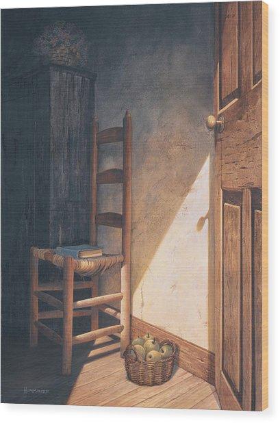 A Warm Welcome Wood Print