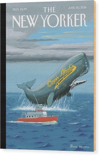 Capn Ahabs Wood Print