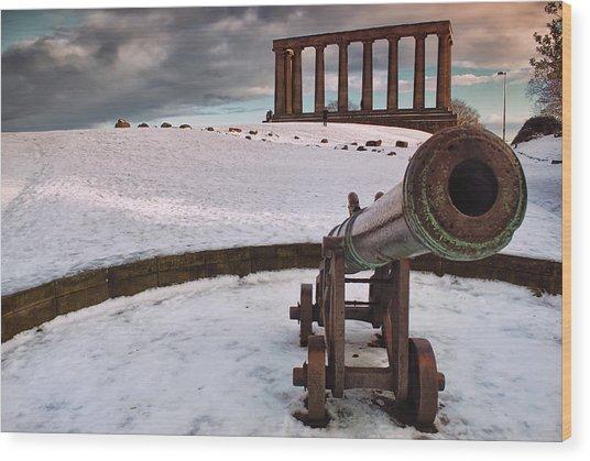 A Winter Tribute Wood Print