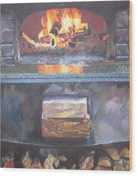 A16 Oven Wood Print by Kendal Greer