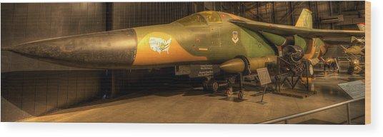 Aardvark F-111 Wood Print