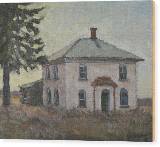 Abandoned Near Hillsboro Wood Print