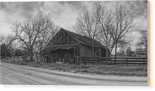 Abandoned Shack In Anmansville Texas Dubina Wood Print