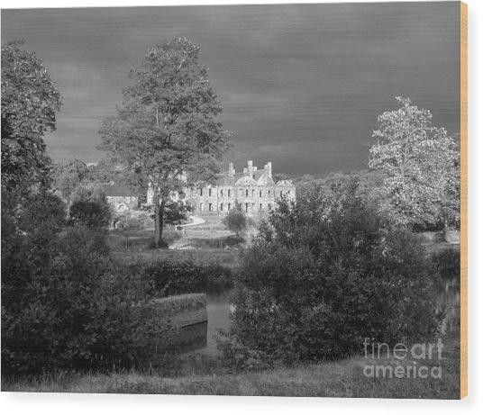 Abbaye De Bon Repos Wood Print by Carol Weitz