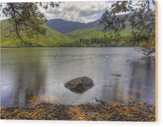 Abbey Lake Wood Print