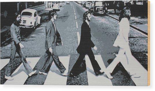 Abbey Road 2013 Wood Print