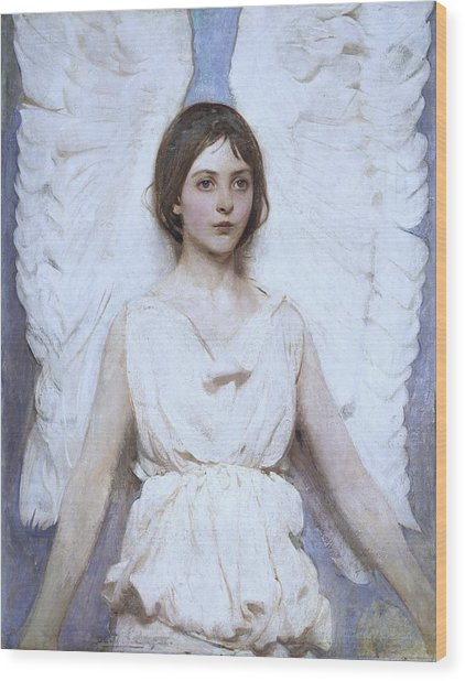 Abbott Handerson Thayer Angel 1886 Wood Print