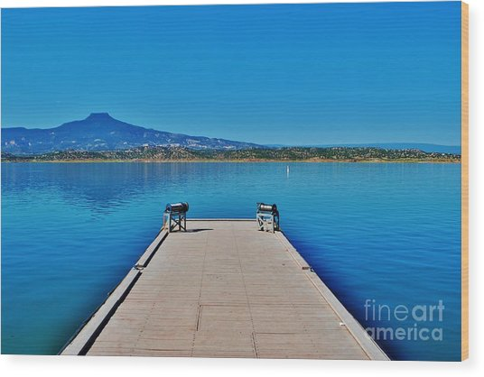 Abiquiu Lake Wood Print