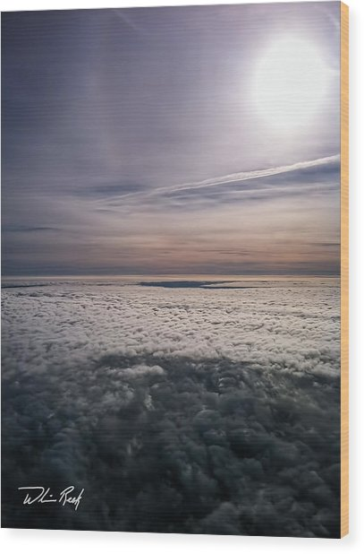 Above The Clouds 2 Wood Print by William Reek