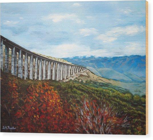Abruzzo Italian Countryside  Wood Print