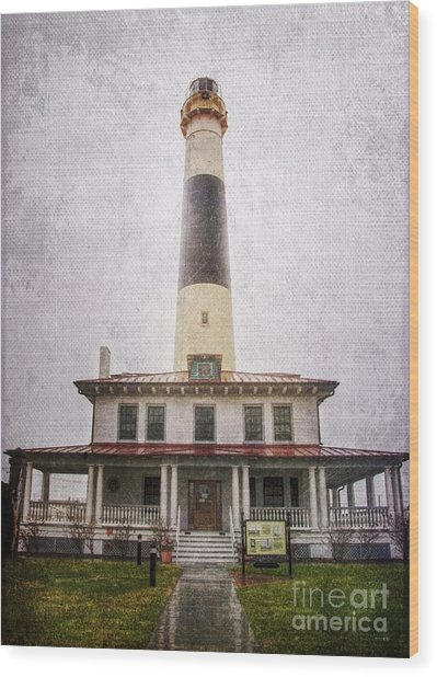 Absecon Lighthouse Wood Print
