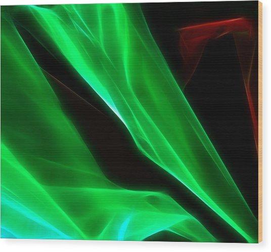 Abstract 015 Wood Print