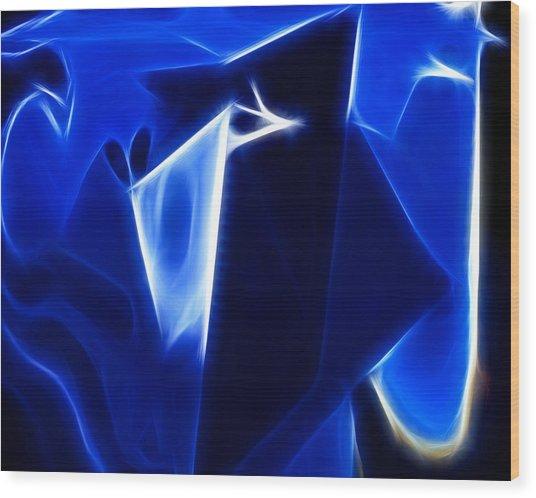 Abstract 017 Wood Print