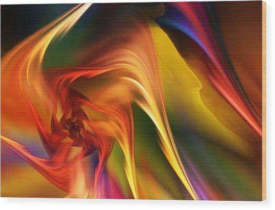 Abstract 031814 Wood Print