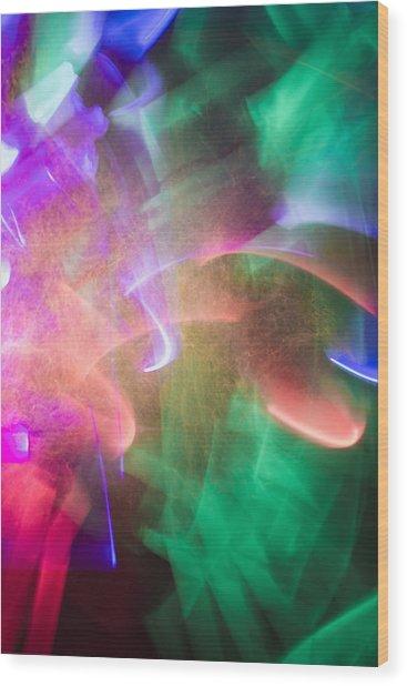 Abstract 20 Wood Print