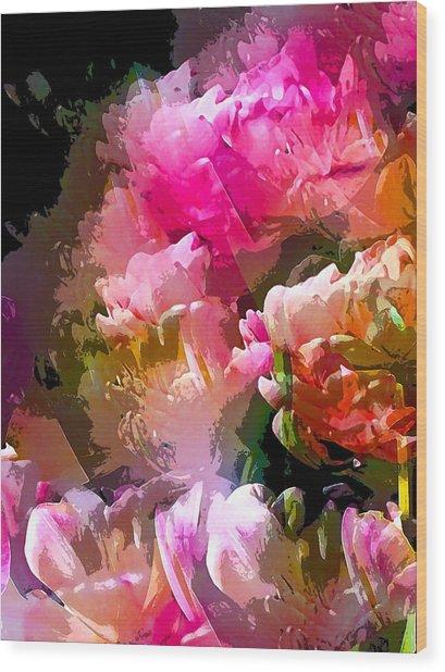 Abstract 272 Wood Print