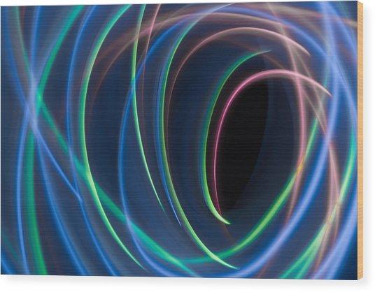 Abstract 40 Wood Print