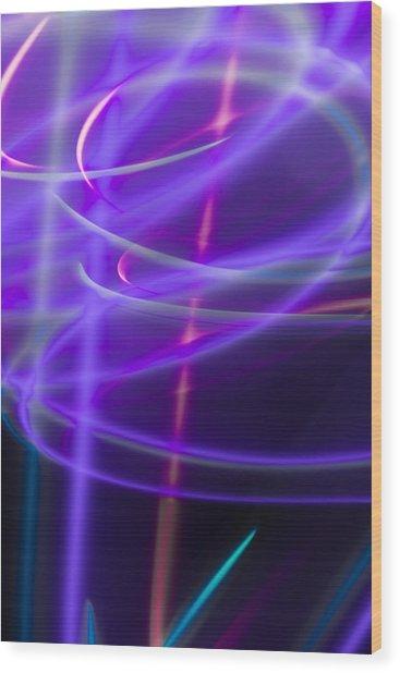 Abstract 41 Wood Print