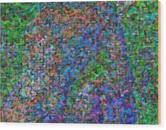 Abstract Colorfull  Art Wood Print