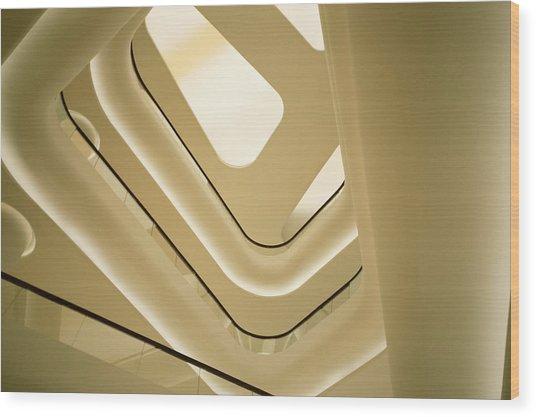 Abstract Geometry Wood Print