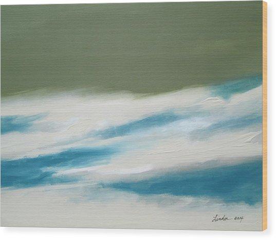 Abstract No. 1 Wood Print