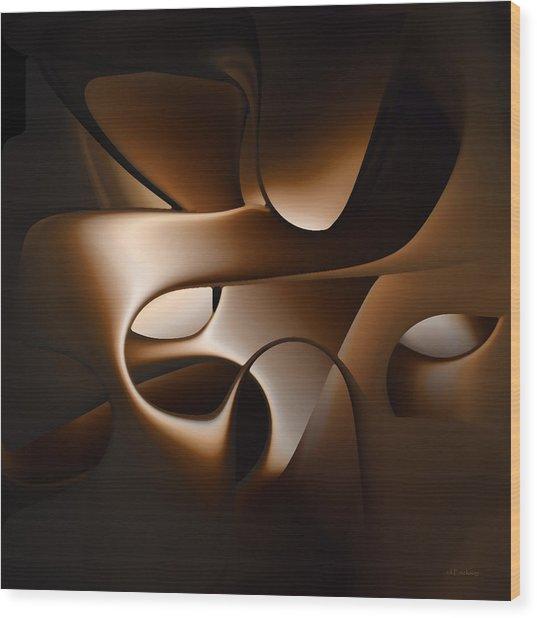 Chocolate - 005 Wood Print