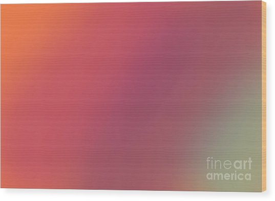 Abstract And Polychromatic Background 1 Wood Print by Enrique Cardenas-elorduy