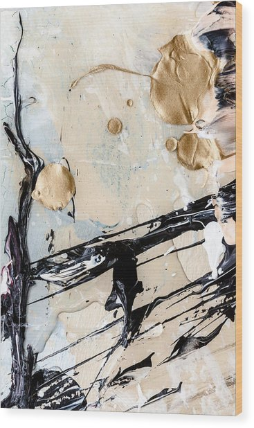 Abstract Original Painting Untitled Twelve Wood Print