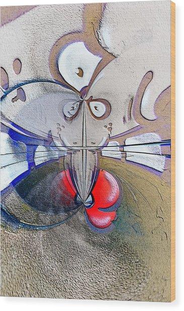 Abstract Vol2 Wood Print by Marek Czaja