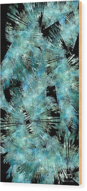 Abstraction 432-08-13 Marucii Wood Print