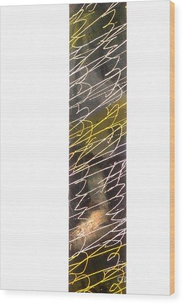 Abstrait 7 Wood Print