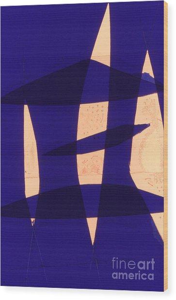 Abstrait6 Wood Print