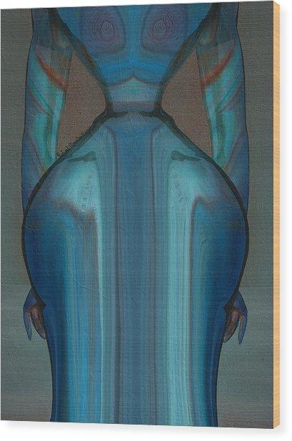 Abuela Wood Print by Robert Maestas