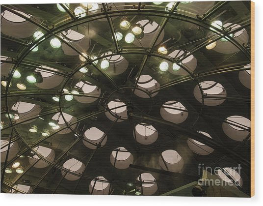 Academy Skylights Wood Print