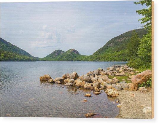 Acadia Bubble Mountains  Wood Print