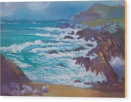 Achill Ireland Wood Print