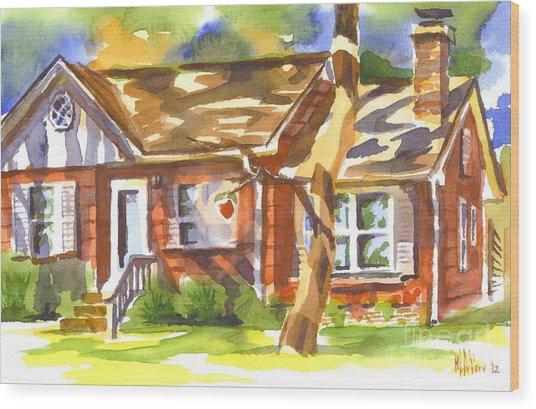 Adams Home Wood Print