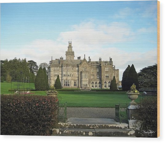 Adare Manor  Wood Print