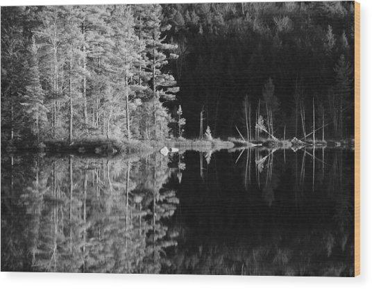 Adirondack Reflections Wood Print