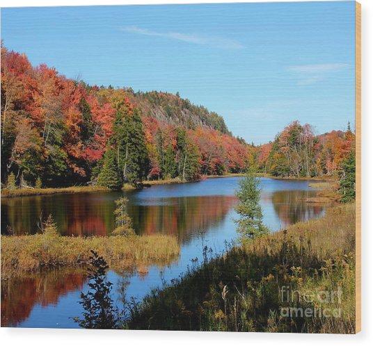 Adirondack Splendor Wood Print