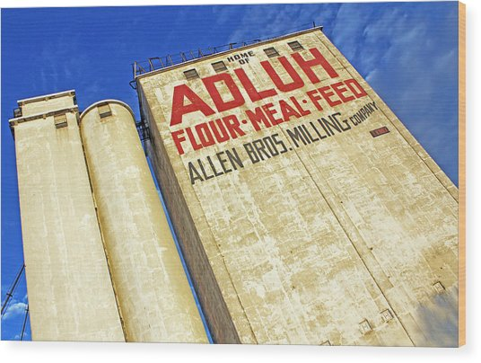 Adluh Flour Wood Print