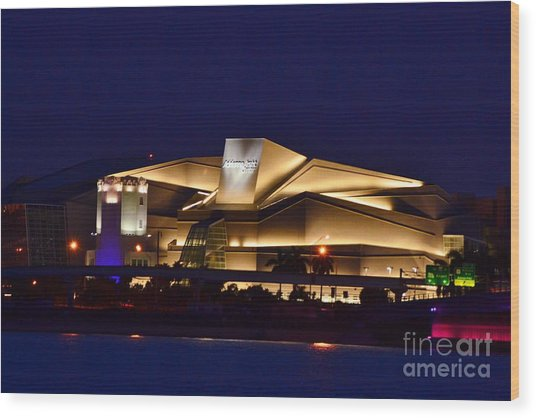 Adrienne Arsht Center Performing Art Wood Print