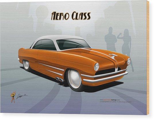 Aero Class Wood Print